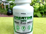 CREATINE MONOHYDRATE 140 CAPS (креатин моногидрат) 140 капсул